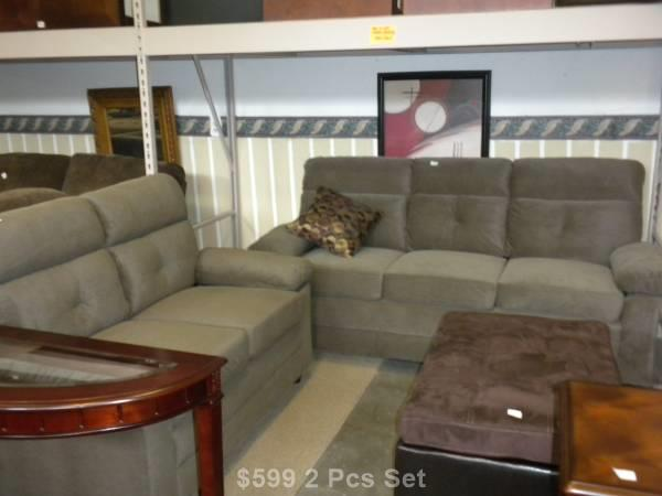 New Loveseat and Sofa Set